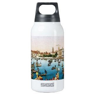 Vintage Venice, regatta Insulated Water Bottle