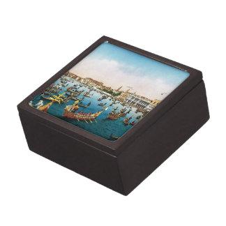 Vintage Venice regatta Premium Jewelry Box