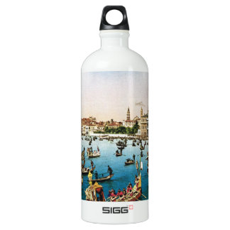 Vintage Venice, regatta Water Bottle