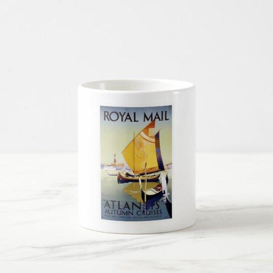 Vintage Venice Travel Poster Coffee Mug