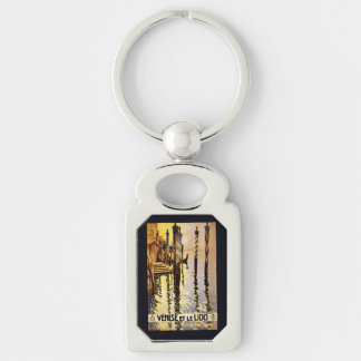 """Vintage """"Venise et le Lido"""" Italy key chain"""