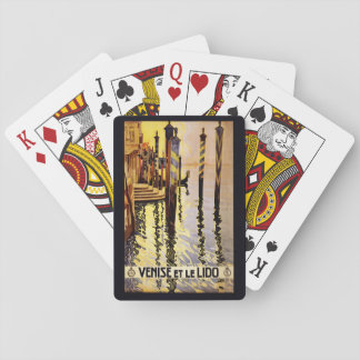 """Vintage """"Venise et le Lido"""" Italy playing cards"""