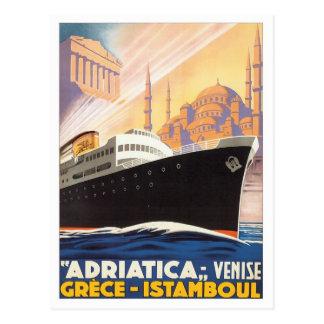 Vintage Venise Grecia Istamboul Postales