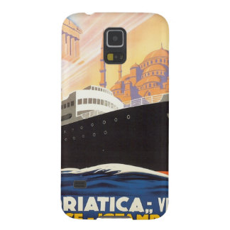 Vintage Venise Greece Istamboul Galaxy S5 Cover