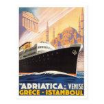 Vintage Venise Greece Istamboul Post Card