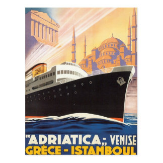 Vintage Venise Greece Istamboul Postcard