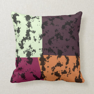 Vintage Vera Neumann Colorful Pop Art Pillow