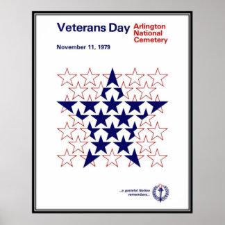 Vintage Veterans day, 1979  - Posters