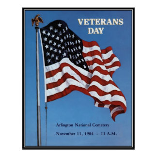 Vintage Veterans day, 1984  - Print