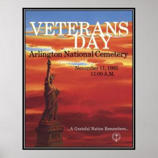 Vintage Veterans day, 1985  - Print