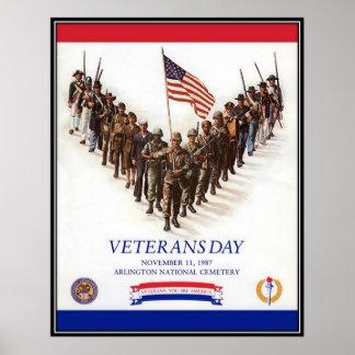 Vintage Veterans day, 1987  - Posters