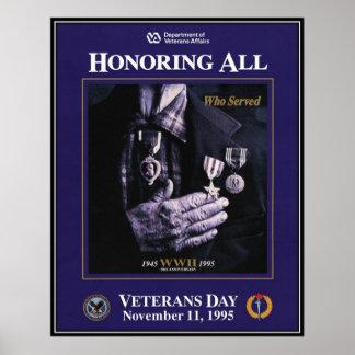 Vintage Veterans day, 1995  - Print