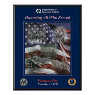 Vintage Veterans day, 1999  - Print