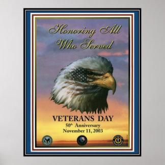 Vintage Veterans day, 2003  - Poster