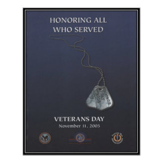 Vintage Veterans day, 2005  - Posters