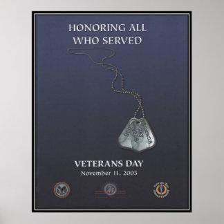 Vintage Veterans day, 2005  - Posters