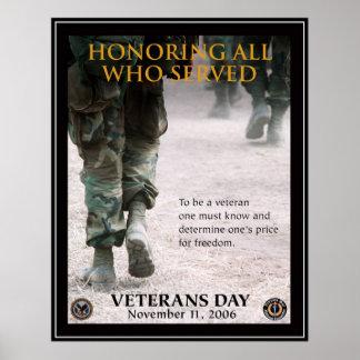 Vintage Veterans day, 2006  - Poster
