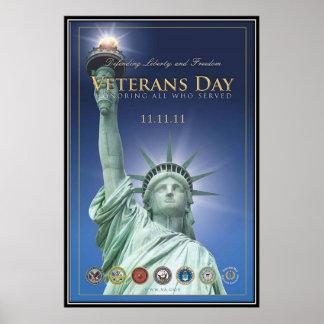 Vintage Veterans day, 2011  - Print
