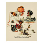 Vintage Veterinarian Visit to the Vet Personalized Poster