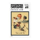 Vintage Veterinary Medicine Stamp