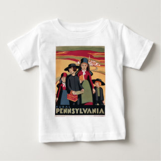 Vintage-Viaje-Poster-Rural-Pennsylvania Playera