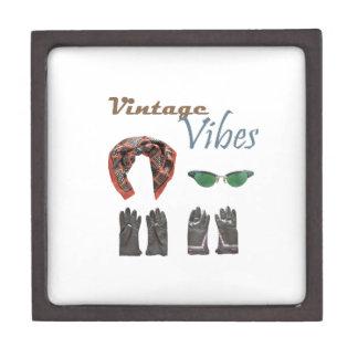 Vintage vibes clothing design jewelry box