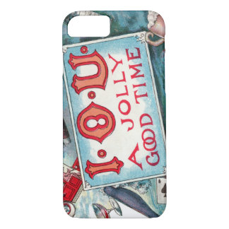 Vintage Vices Party, Gambling Drinking Smoking iPhone 7 Case
