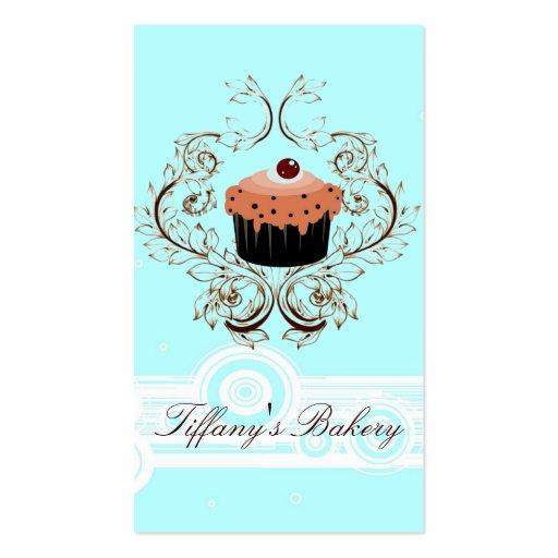 Vintage Victoria Fancy Boutique Blue Business card