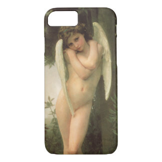 Vintage Victorian Angel Art, Cupid by Bouguereau iPhone 8/7 Case