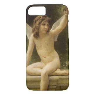 Vintage Victorian Angel, Prisoner by Bouguereau iPhone 7 Case