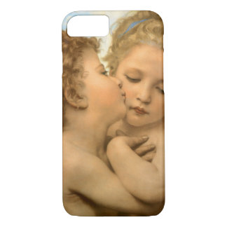 Vintage Victorian Angels, First Kiss by Bouguereau iPhone 8/7 Case