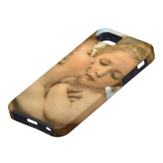 Vintage Victorian Angels, First Kiss by Bouguereau iPhone SE/5/5s Case