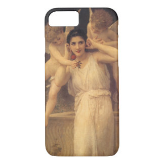 Vintage Victorian Angels, Youth by Bouguereau iPhone 7 Case