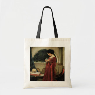 Vintage Victorian Art, Crystal Ball by Waterhouse Budget Tote Bag