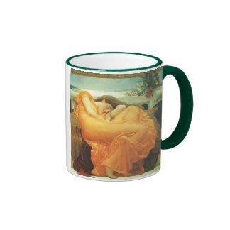 Vintage Victorian Art, Flaming June by Leighton Ringer Coffee Mug