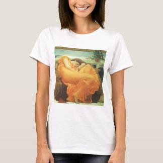 Vintage Victorian Art, Flaming June by Leighton T-Shirt
