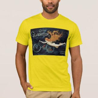 Vintage Victorian Art Nouveau, Gladiator Cycles T-Shirt