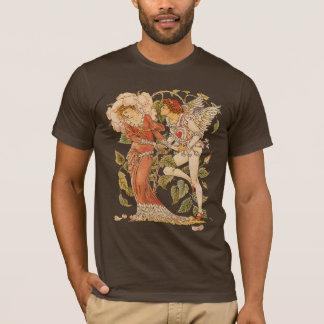 Vintage Victorian Art, Rose by Walter Crane T-Shirt