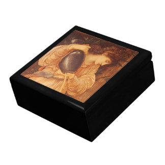 Vintage Victorian Art, Temperantia by Burne Jones Gift Box