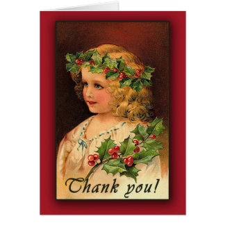 Vintage Victorian Art Thank You Cards