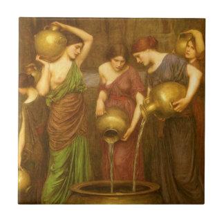 Vintage Victorian Art, The Danaides by Waterhouse Ceramic Tile