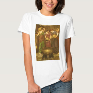 Vintage Victorian Art, The Danaides by Waterhouse T-Shirt