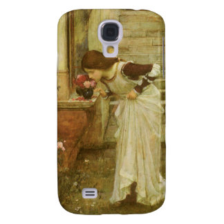 Vintage Victorian Art, The Shrine by JW Waterhouse Galaxy S4 Cover