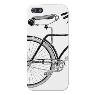 Vintage Victorian Bicycle Cover For iPhone SE/5/5s