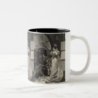 Vintage Victorian Bride Bridal Portrait Coffee Mug
