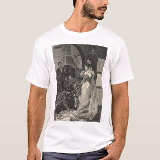 Vintage Victorian Bride, Bridal Portrait T-Shirt