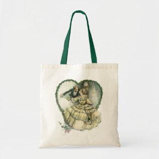 Vintage Victorian Christmas Wedding Tote Bag