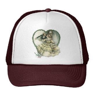 Vintage Victorian Christmas Wedding Trucker Hat