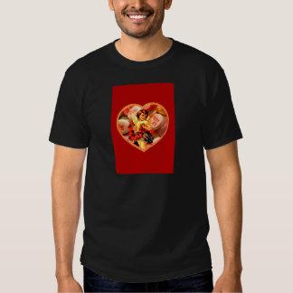Vintage Victorian Cupid Candy Heart Valentine T-Shirt