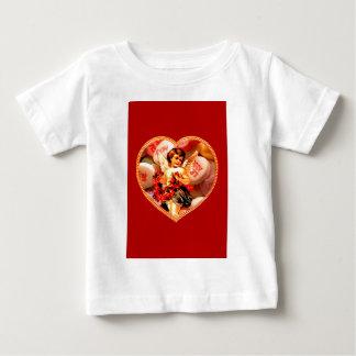 Vintage Victorian Cupid Candy Heart Valentine Shirt